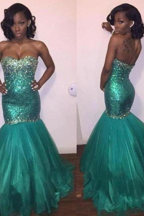 Prom Dress,Prom Dresses,Long Prom Dress, Turquoise Prom Dress, Sparkle Prom Dress, Mermaid Prom Dress, Sweetheart Prom Dress,Sequins Party Dresses,Sexy Party Dresses